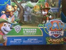 Paw Patrol Tracker & Mandy Jungle Rescue Set Free Shipping
