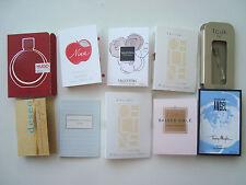 10 Mixed Job Lot Samples Vials Travel Perfumes Thierry Mugler Cartier Hugo Boss
