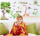 Dinosaur Wall Sticker Cute Cartoon Animals Wall Art Decals Removable Home Decor