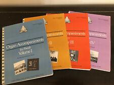 Organ Accompaniments Volumes I, II, III, IV - Monks of the Weston Priory