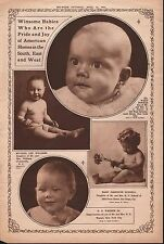 1922 AMERICAN BABY PICTURES Edward Powers,MaryJ.Scnell,H.R.Warner,Williams