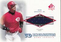 2001 Upper Deck Exclusives Game Jerseys Ken Griffey Jr. #UD-KG