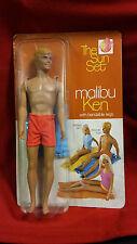 1970 Barbie Malibu Ken The Sun Set Bendable Legs in Box