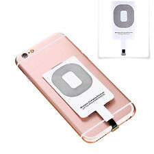 Qi Wireless Charging Receiver Adapter Mat Coil Pad For iPhone 6S 5S 6 7 PLUS AU