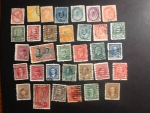 CANADA USED CLASSIC QUEEN AND KINGS ISSUES, NICE  # 504
