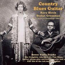 Rory & Grossman, Stefan Bloc-Country Blues Guitar CD NEUF
