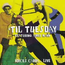 TIL TUESDAY FEAT. AIMEE MANN - Voices Carry… Live CD *NEW & SEALED