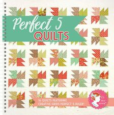 Perfect 5 Quilts -16 Quilts featuring Creative Grids ruler by It's Sew Emma