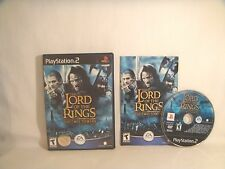 Lord of the Rings: The Two Towers (Sony PlayStation 2, 2004) *Black Label*