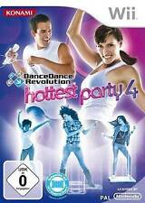 Nintendo WII Gioco dancedancerevolution Hottest Party 4 NUOVO * NEW