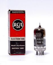 5Cq8 Rca Electron Tube in box- top getter Test 100% +