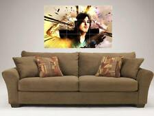 "RONNIE RADKE MOSAIC 35X25"" WALL POSTER FALLING IN REVERSE & ESCAPE THE FATE"