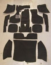 VOLKSWAGEN KARMANN GHIA 74-UP SEDAN BLACK CARPET KIT