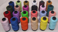 24 Large All Purpose Sewing & Quilting 100% Cotton Thread Spools *500 yards each