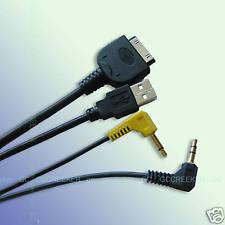 IPOD TO KENWOOD MULTIMEDIA HEADUNIT AV CABLE KCA-IP301V