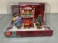Used Lemax Village Countdown To Christmas Calendar Christmas Collection