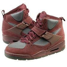 Nike Jordan Flight 45 Trk Mens 467927-601 Deep Burgundy Sneaker Boots Size 10.5