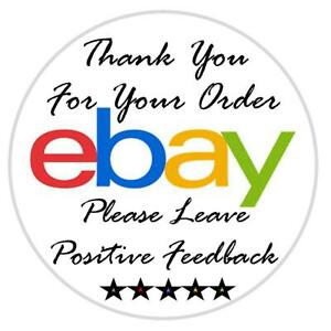 """60 1"""" Thank You For Your eBay Purchase Labels / Stickers / Seals"""