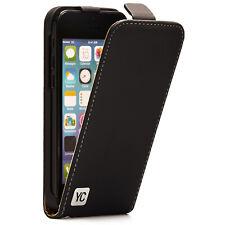 Apple iPhone 5C Hülle Tasche Case Schutz Hülle Etui Cover Book You Case schwarz