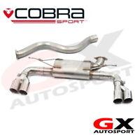 BM107 Cobra sport BMW 430D F32 F33 F36 M-Sport 13> Quad Exit Centre Rear Box