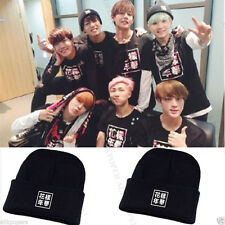Kpop BTS In Bloom Beanie Hat Bangtan Boys Knit Cap Cute Headwear Winter Cotton
