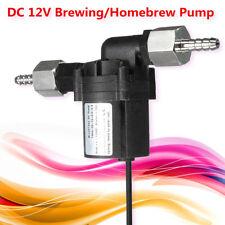 12v DC 1.5a 18w Brewing Pump for Homebrew Beer Wort Mash Circulation Craft