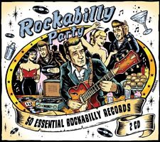 ROCKABILLY PARTY (Eddie Cochran, Buddy Holly, Johnny Burnette) 2 CD NEUF