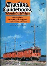 TRACTION GUIDEBOOK FOR MODEL RAILROADERS, SCHAFER, KALMBACH, NEW BOOK ON SALE