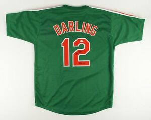 "Ron Darling Signed St. Patricks Day Mets Jersey Inscribed ""1986 WSC"" (JSA Holo)"