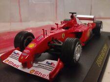 Modellini statici auto da corsa Formula 1 con Michael Schumacher
