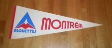 1970's Montreal Alouettes pennant felt old logo CFL original RARE