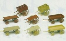 Preiser 17103 - Hand Carts (8 Pieces) Kit Gauge 'H0/00' 1:87 Scale - T48