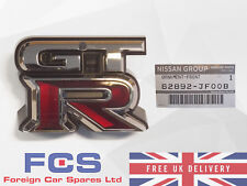 NEW* GENUINE NISSAN GTR GT-R R35 FRONT GRILL BADGE EMBLEM 62892-JF00B
