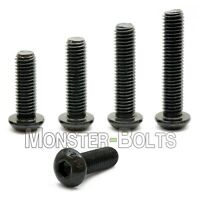 #5-40 - Button Head Socket Cap Screws Alloy Steel Thermal Black Oxide Coarse SAE