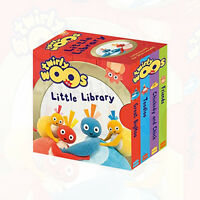 Twirlywoos Little Library (Twirlywoos) Board Book Collection, Children's Box Set