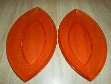 Tupperware Sinfonie Eleganzia - 2 Servierplatten in orange