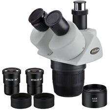 Amscope Sw13ty 10x 15x 30x 45x Super Widefield Stereo Trinocular Microscope Head