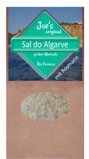 Rosmarinsalz - Sal do Algarve, Fabelhaft für Gemüse 400g (EUR 25,88/ kg)