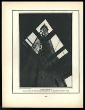 1930 Margaret Bourke-White Chrysler Building construction photo vintage print