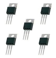 5 x Positive Voltage Regulator ICs TO-220 L78XX 5v 6v 8v 9v 10v 12v 15v 18v 24v