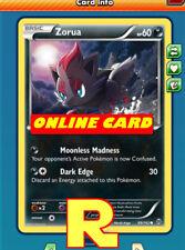 4x Zorua (BKT) for Pokemon TCG Online ( DIGITAL ptcgo in Game Card)