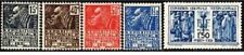 "FRANCE STAMP 1930-31 Y&T 270/74 "" EXPOSITION COLONIALE 5 TIMBRES "" NEUFS xx TTB"