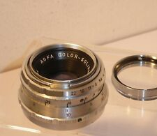 Agfa Color-Solinar 50mm f2.8 Prime Lens For Agfa Ambi Silette   (284)
