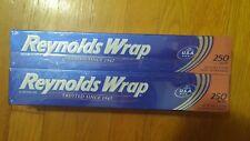 Reynolds Wrap 12 inch Aluminum Foil Rolls 2 pk x 250 sq ft = 500 sq ft