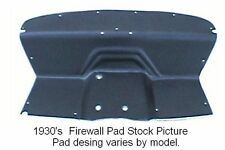 1936 Studebaker Dictator Firewall Pad