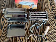 New Imperia - Chromed Steel Italian Pasta Machine Plus Batali Babbo Cookbook