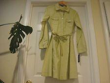 NWT 149.00$ Pendleton Stitched Dress -Sz 14 ,Palm Color 100%Cotton