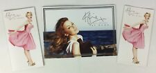 Kylie Minogue 'At Home' Official Promo Brochure Catalogue Group Of 3 (sea)