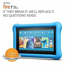 """All-New Amazon Fire 7 Kids Edition Tablet with Alexa 7"""" Display 16 GB Kid-Proof"""