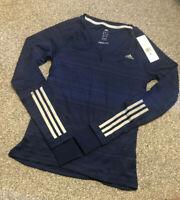 Adidas Supernova Long Sleeve Women Running Top - Blue S16197 RRP £39.99